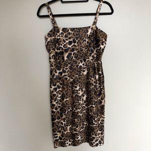 Evan Picone Leopard dress